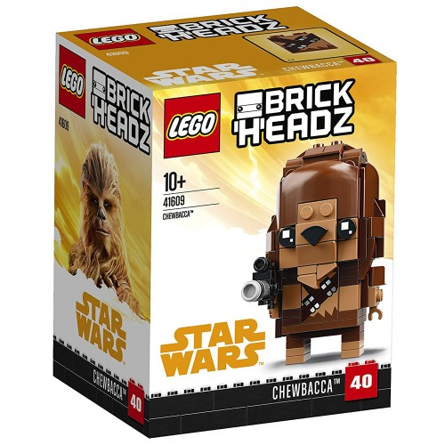 BrickHeadz Chewbacca n°41609 (Star Wars)