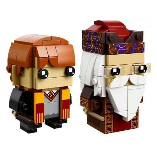 Pack BrickHeadz Ron Weasley et Albus Dumbledore n°41621 (Harry Potter)
