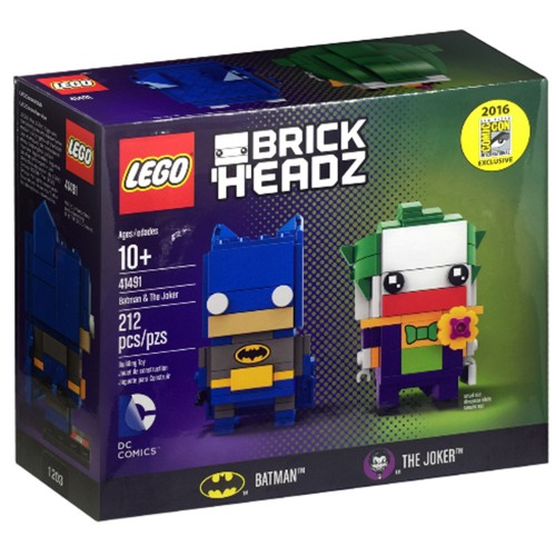 Pack BrickHeadz Batman et le Joker n°41491 (DC Comics)