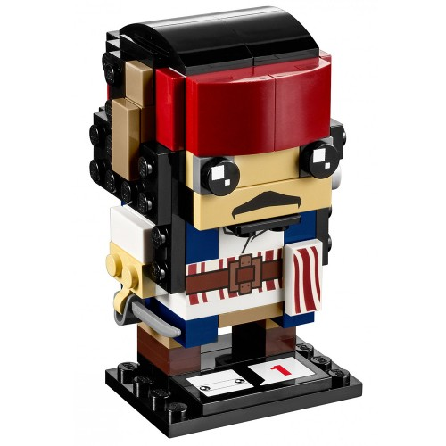 BrickHeadz Captain Jack Sparrow n°41593 (Pirates of the Caribbean)