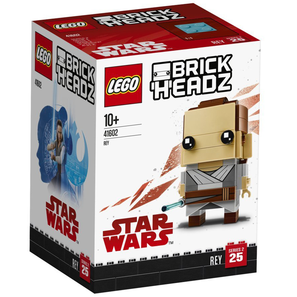 BrickHeadz Rey n°41602 (Star Wars)