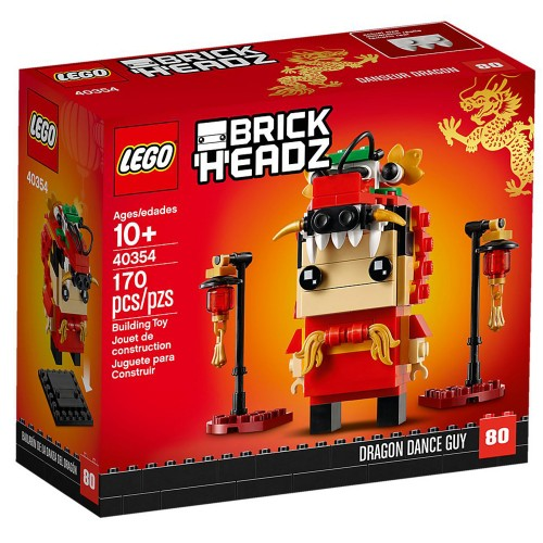BrickHeadz Dragon Dance Boy n°40354