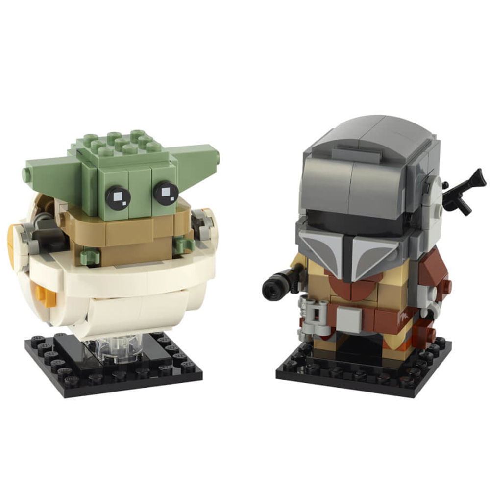Pack BrickHeadz The Mandalorian The Child n°75317